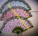 Kipas motif bunga