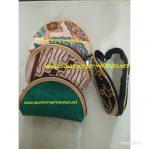 Souvenir Pernikahan Dompet Oval Motif Batik