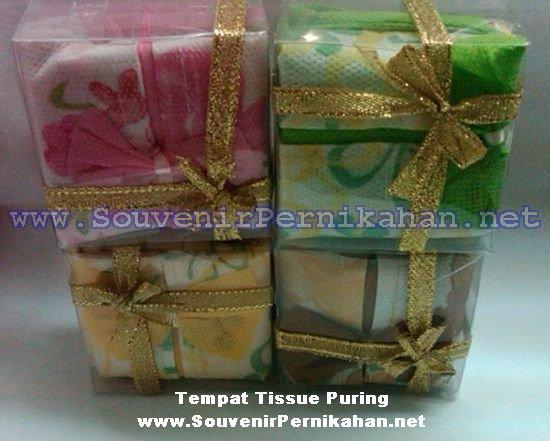 Tempat tissue puring