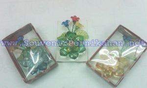 Souvenir Bros Akrilik Bunga Panjang