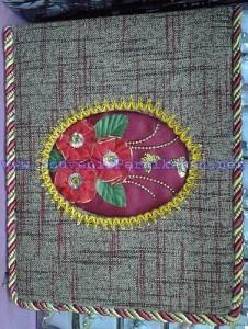 Buku Tamu Pernikahan Hiasan Bunga (VIP)