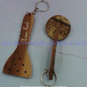 Grosir Souvenir Gantungan Kunci Centong Nasi