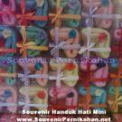 Souvenir Handuk Hati Mini