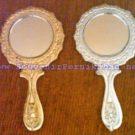 Souvenir Pernikahan Kaca/Cermin Bulat