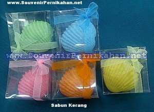 souvenir sabun kerang