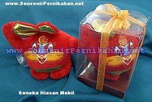 souvenir boneka hiasan mobil