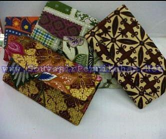 souvenir dompet batik panjang cantik murah pernikahan