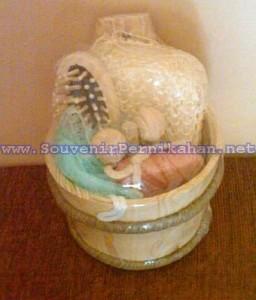 Souvenir Siraman Murah Bulat