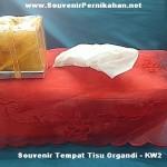 souvenir tempat tisu Organdi - KW2