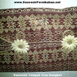 Tempat Tissue Full Songket Eksklusif