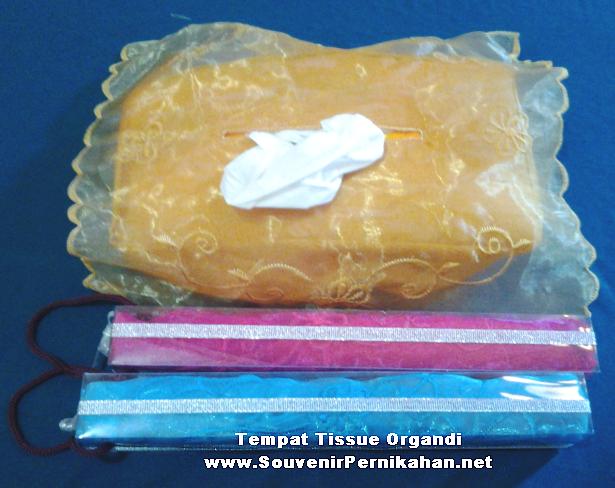tempat tissue organdi