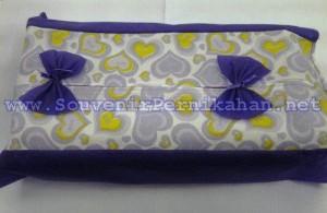 Souvenir Pernikahan Tempat Tissue Puring