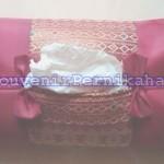 Souvenir Tempat Tissue Satin Songket