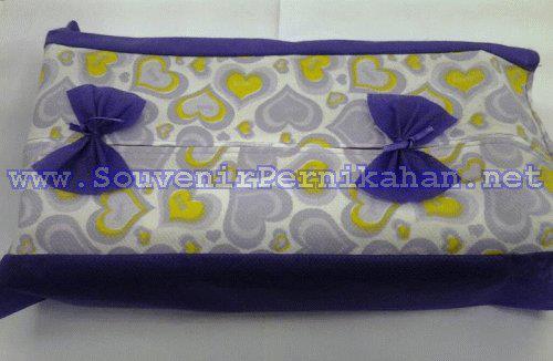 tempat tissue satin puring