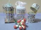 Souvenir Tempat Tusuk Gigi Keramik Cina