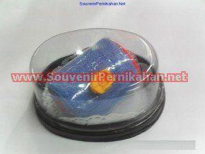 souvenir towel cake cantik oval