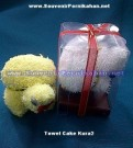 Towel Cake Souvenir Kura-Kura