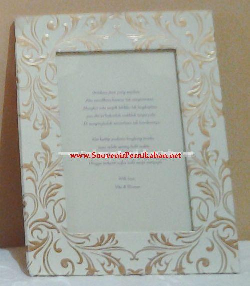 Undangan Pernikahan Frame Foto (HC 02) - Souvenir Pernikahan