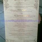 Undangan Pernikahan – Undangan Bambu Unik, Klasik dan Elegan