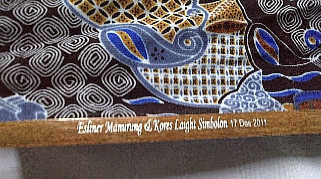 sablon nama kipas batik jumbo