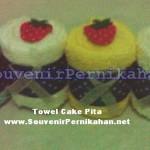 Towel Cake Pita – Souvenir Handuk Murah Untuk Pernikahan Anda