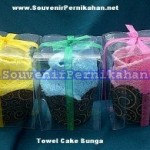 Towel Cake Murah Bentuk Bunga