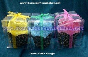 Towel cake murah bunga