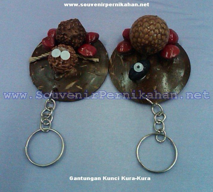 jual souvenir gantungan kunci kura-kura murah