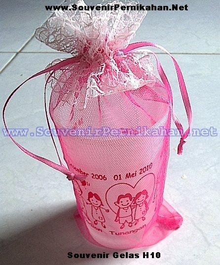 souvenir gelas H10