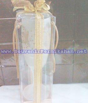 souvenir gelas slim tinggi